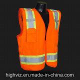 Het hoge Weerspiegelende Vest van het Zicht met ANSI07 (C2021)