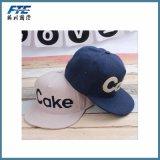 Chapéu de basebol bordado em algodão escovado com algodão escovado