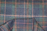 Tela teñida hilado de T/R, estilo de la tela escocesa, 65%Polyester 32%Rayon 3%Spandex, 280GSM