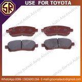 Garniture de frein de pièce d'auto de haute performance 04465-Bz010 pour Toyota