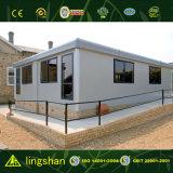 Oficina prefabricada del sitio de la estructura de acero