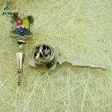 Выполненный на заказ напечатанный 3D серебряный навальный Pin отворотом