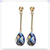 De Oorringen van de Juwelen van het Roestvrij staal van de Juwelen van de manier (EE0040)