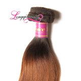 Волосы новой девственницы Remy Weft Ombre способа бразильской прямые