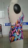 섹시한 한 조각 견장을 단 수영복 (OP-5015W)