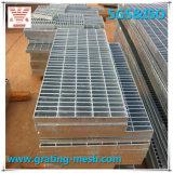 Acero llano galvanizado que ralla para la plataforma (ISO)
