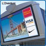Signage ao ar livre do diodo emissor de luz Digital da cor P10 cheia para anunciar