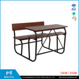 China Mingxiu High Quality College Classroom Desk and Chair / School Desk and Chair