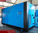 Compresseur d'air industriel de vis de rotor de métallurgie double (560KW)