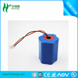 Batería Li-ion de 11.1V 4.4ah 3s2p 18650 para Walkie Talkie
