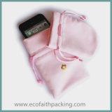 Роскошный розовый мешок мешка ювелирных изделий бархата мешка ювелирных изделий бархата