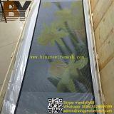 粉の上塗を施してあるセキュリティ画面のドアの網