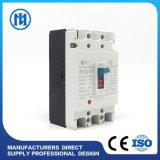 Corta-circuito MCCB Cdm3-250 63A 400V 3pole de la caja del molde de la C.C.