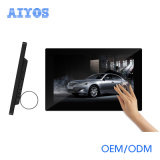 Full HD Tabletop 10inch LCD WiFi Advertizing Displayer