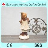 Decorazione creativa di festa dei Figurines del ragazzo di natale della resina di alta qualità