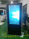 Дисплей с плоским экраном LCD Signage 55 индикации видео-плейер напольный рекламировать цифров экранов дюйма цифров двойной напольный