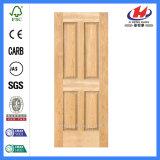 Хозяйственная дверь Veneer твердой древесины HDF конструкции (JHK-004P)