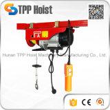 400kg 판매를 위한 휴대용 마이크로 철사 밧줄 모터 상승 전기 호이스트 PA400