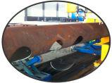 Tagliatrice rotonda del plasma di CNC del tubo di 4 assi con lo SGS del Ce
