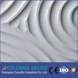 Panneau de mur respectueux de l'environnement d'onde d'effet 3D