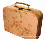 Печатание коробки чемодана бумаги контейнера игрушки чемодана малышей бумажное/малыша полного цвета