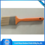 Cepillo de pintura americano del estilo con la maneta de madera larga