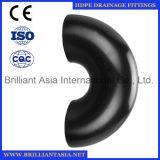 Dreno de assoalho plástico Dual-Channel cabendo do aço inoxidável do banheiro do conetor da tubulação Waste do HDPE