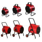 Beweglicher runder industrieller Heizlüfter mit Standplatz und Rädern