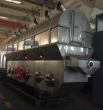 Máquina de secagem de vibração de base fluida para produtos químicos