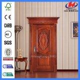 La qualité de Hight d'artisan découpent la porte de luxe en bois (JHK-001CS)