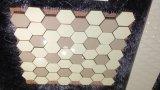Каменная плитка Nano выкристаллизовыванное стеклянным Paquet подгонянное камнем