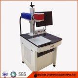Gravura do laser do metal e máquina da marcação