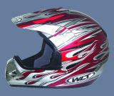 De Helm van de motor (121-Yellow&Red)
