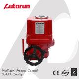 Roter explosionssicherer elektrischer Ventil-AN/AUS-Stellzylinder