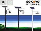 Lumière solaire approuvée de barrière de la CE 15W LED