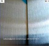 Edelstahl-Blätter 304 kein Ende des Satin-4 mit Film Kurbelgehäuse-Belüftung Laser-Cuting