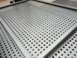 Hoja perforada de aluminio de la pantalla del metal