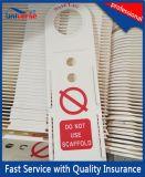 OEM専門のプラスチックSacffoldの札のホールダーメーカー