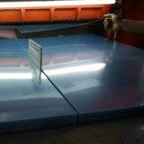 250 Mircon PVC transparente mate hoja rígida, transparente esmerilado de PVC hoja rígida de la caja plegable