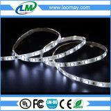 el blanco caliente 3528 luz de 600 tiras del LED con la UL enumeró