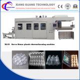 De Machine van Theromoforming van de Container van het voedsel, Automatisch binnen Knipsel en het Stapelen van Apparaat