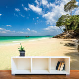 Fabrik-Preis-kundenspezifische tropische Strand-Landschaftswand-Papier-Wand-Wandbilder