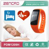 Monitor del cuidado médico que sigue el reloj de la pulsera del ritmo cardíaco de la calidad del sueño