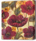 Pintura al óleo floral decorativa de la pintura (02)