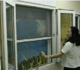Pantalla de la mosca de la fibra de vidrio de la red de la ventana/de la inserción/de mosquito (productor)