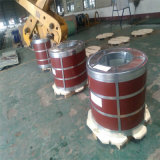 Le matériau de construction PPGI PPGL a enduit la bobine d'une première couche de peinture en acier enduite par couleur