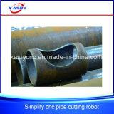 Máquina de estaca do plasma do CNC do metal do pórtico da exatidão elevada
