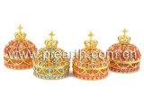 Boîte de bijoux de /Alloy de boîte de PilJewelry/natte de grimage de la boîte bijoux en métal (7) (CB001)