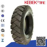 Den Schlag abrechnen, der neuen OTR Reifen des festen den Gabelstapler-Reifen-(5.00-8) verkauft hergestellt in China