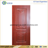 porte de peau moulée par mélamine de 820X2150X3mm HDF pour des portes d'Interiro